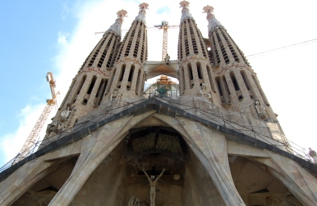 The world of architecture is a neverending adventure...be it great cathedrals like Sagrada Familia...