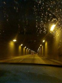 På väg i Stockholm - snö
