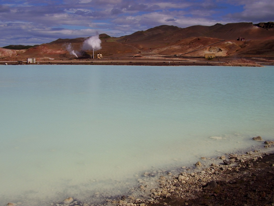 """Hot waters on Iceland. The signs said """"Slysahetta""""..."""