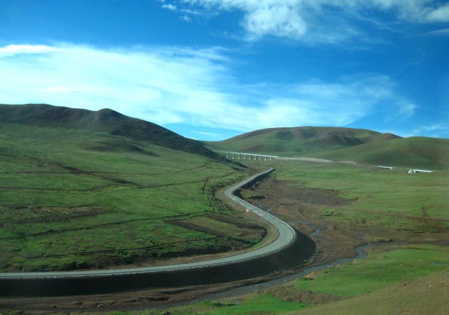 Kina och tågresan till Tibet 2009 386