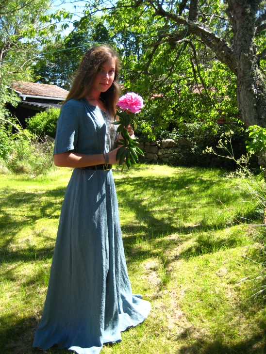 Dressing up for the dance - bringing flowers