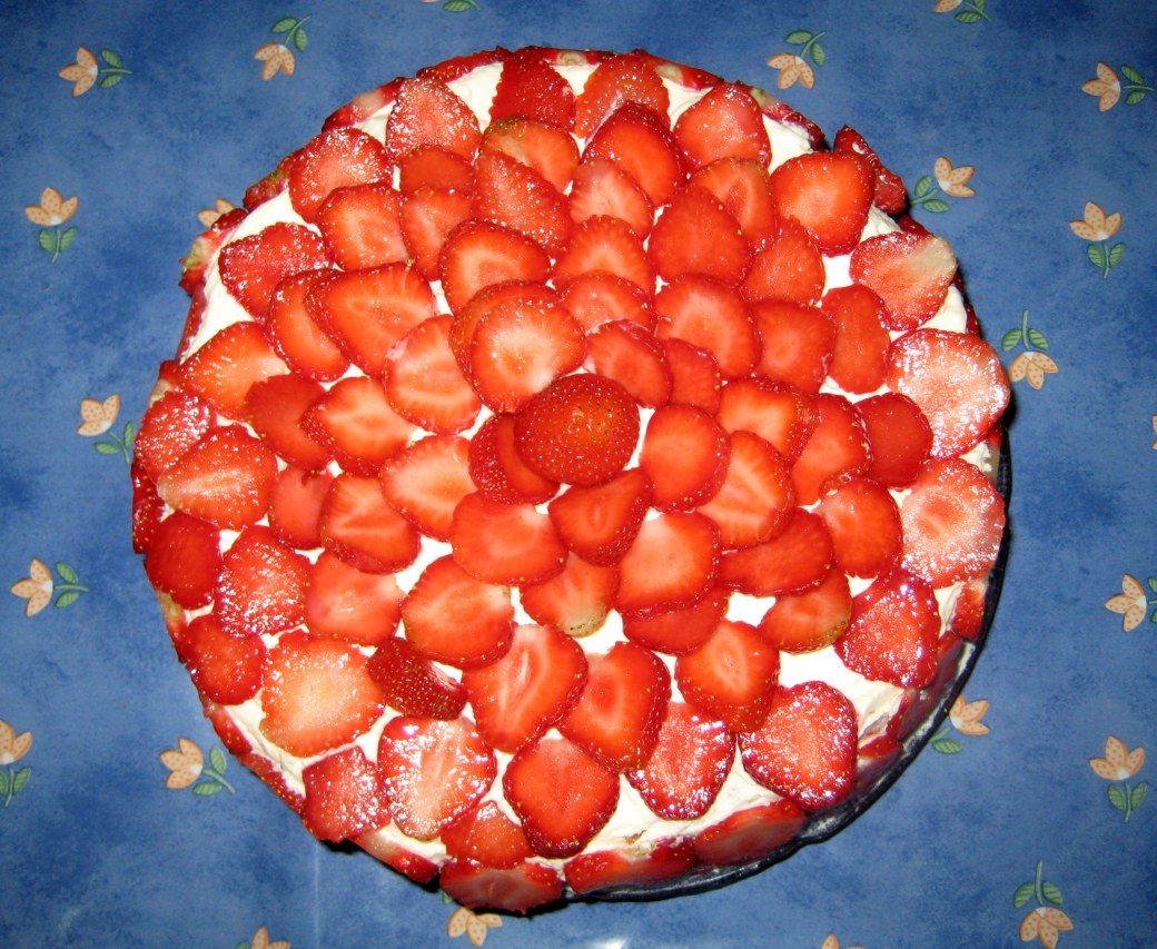 ...and the strawberry cake of course