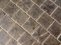 Wooden floor, Copenhagen - man-made from nature
