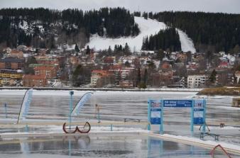 Östersund - on wet ice