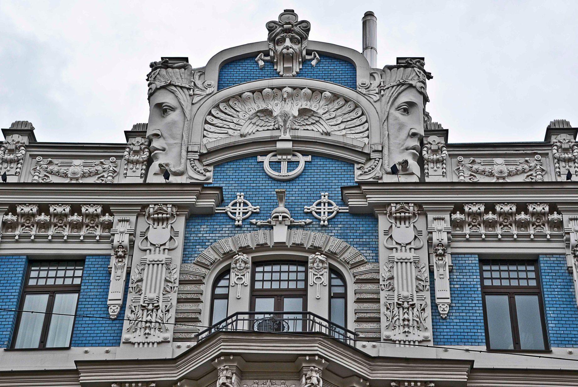 Riga – Art Nouveau – Jugend   Leya