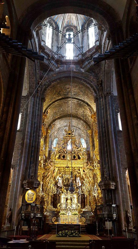 The high altar...