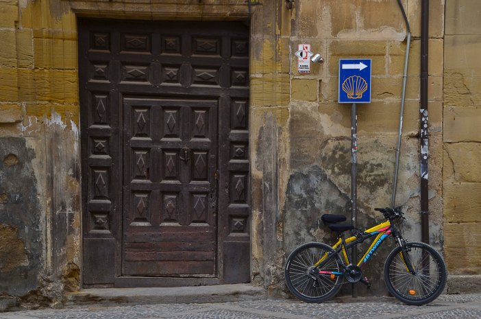 You can walk, bike or ride the Camino