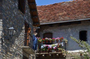 A charming little mountain village