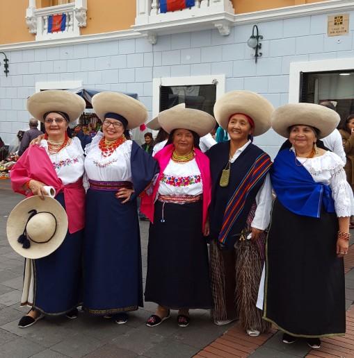 Lovely festive ladies