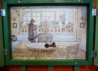 My favourite CL painting. This window is what I dreamt of having in my own home when I grew up!
