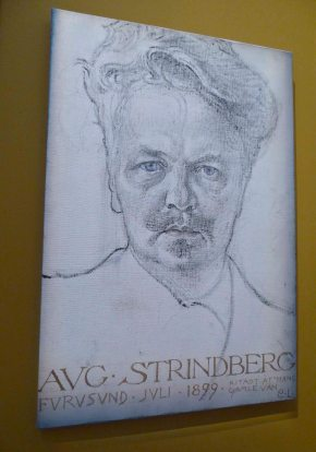 For some years he and Strinberg were great friends...
