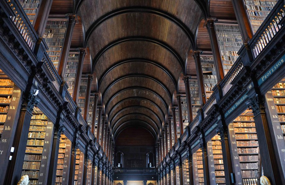 This is indeed a remarkable Old Library - The Long Room
