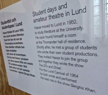 I studied at Lund Uni for several years...