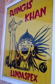 """...and Genghis Khan was the first """"Lundaspex"""" show I enjoyed- Not in 1954 though...but much later"""