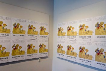the small exhibition is in Lund, at Kulturen