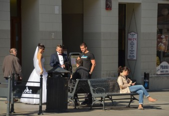 Each day there was a wedding photographing going on...