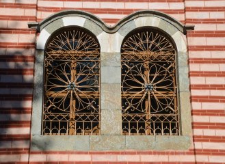 Church windows - beautifully intricate for the light inside
