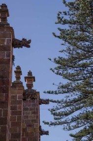 Gargoyles on the west side