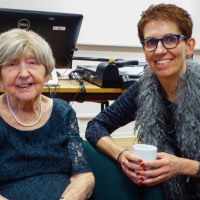 Thursday Thoughts - Meeting The World's Oldest Blogger