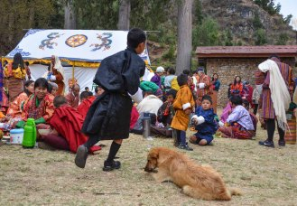 When asked, the children told us they loved the festivals - because they could run around playing all the time!