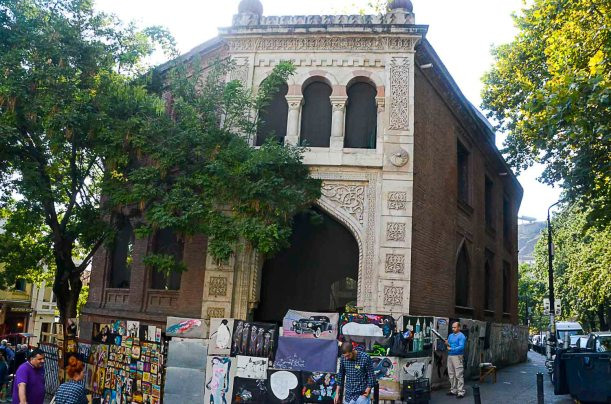 The old Caravanseraj from the Silk Road days - imagine the caravan of camels and merchants entering here!